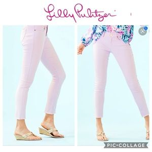 NWT Lilly Pulitzer South Ocean Skinny Jeans Violet